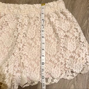 Free People Shorts - Free People Lace Shorts